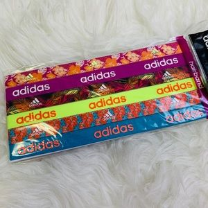 adidas Gear Up Elastic Headbands 6 pack